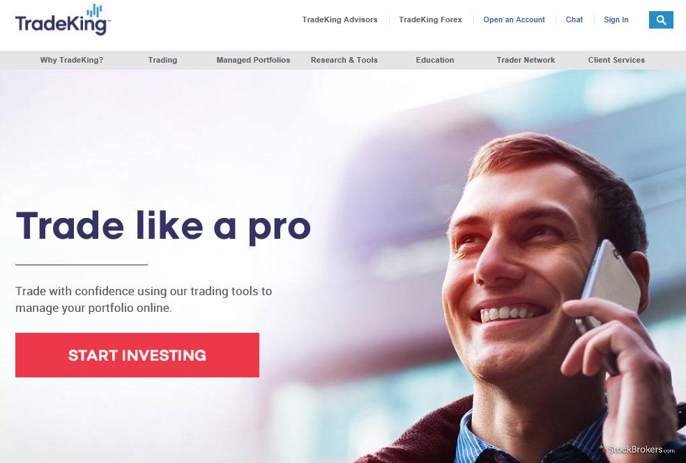 TradeKing Homepage